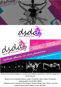 DS Dance Academy Web
